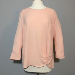Jaclyn Smith Pink Blouse